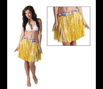 Hawaii rokje geel
