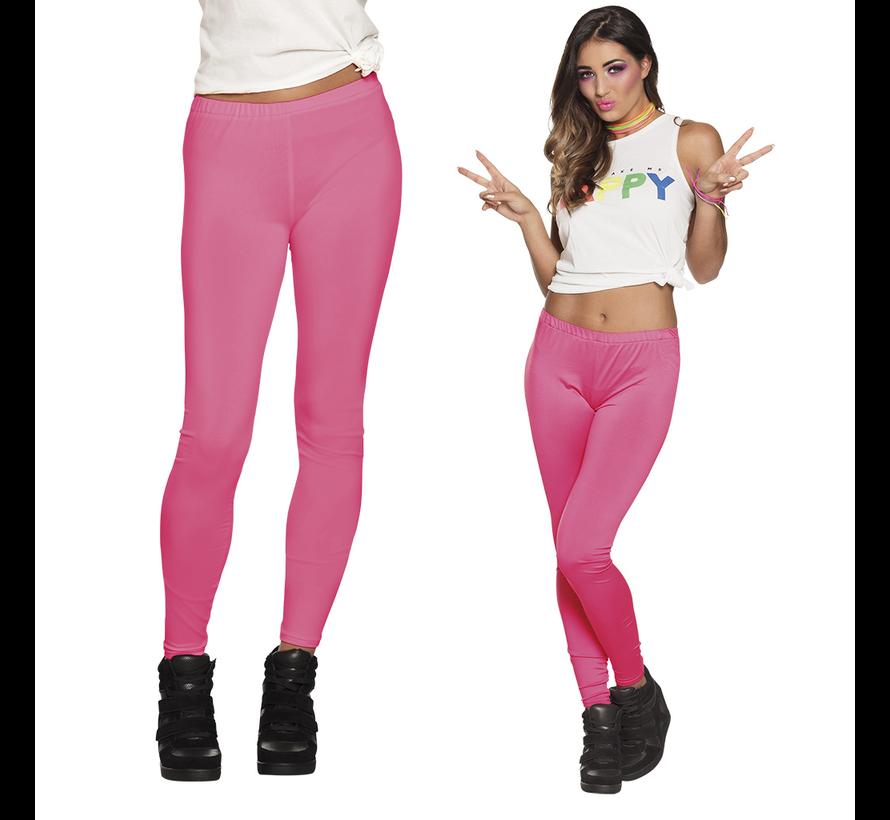 Neon roze legging Dames