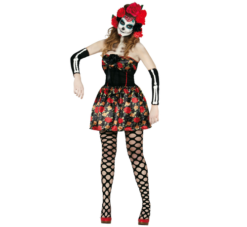 Halloween outfit Catrina