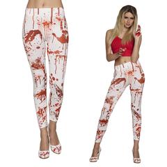 Halloween legging met bloed