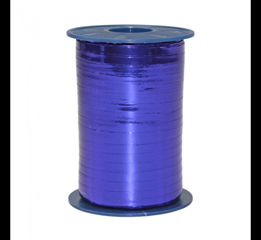 Metallic blauw cadeaulint