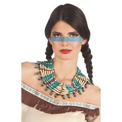 Dames Indianen ketting squaw