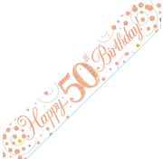 Happy Birthday banner 50