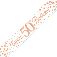 Happy Birthday banner 50