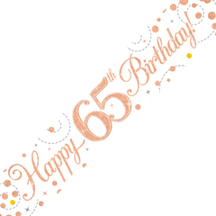 Happy Birthday banner 65
