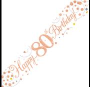 Happy Birthday banner 80
