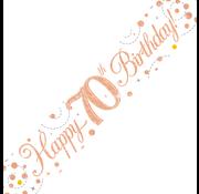 Happy Birthday banner 70
