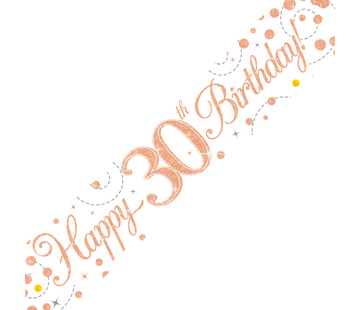Happy Birthday banner 30