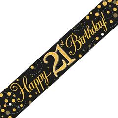 Banner 21 jaar