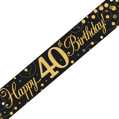 Banner 40 jaar