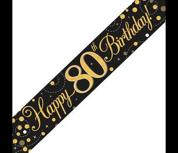 Banner 80 jaar