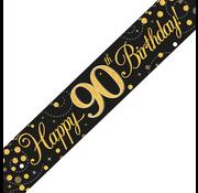 Banner 90  jaar