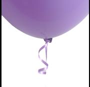 Ballon snelsluiters paars