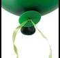 Ballon snelsluiters groen met lint