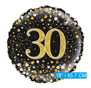 Folie-ballon 30 jaar