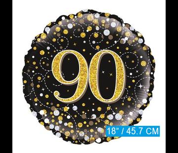 Folie-ballon 90 jaar