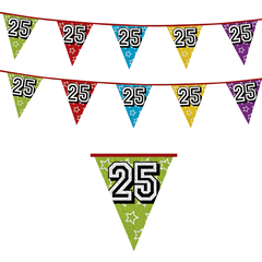 Leeftijd Vlaggenlijn 25 jaar