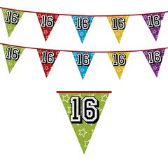 Vlaggenlijn 16 jaar Feestversieringen