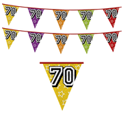 Leeftijd Vlaggen 70 jaar