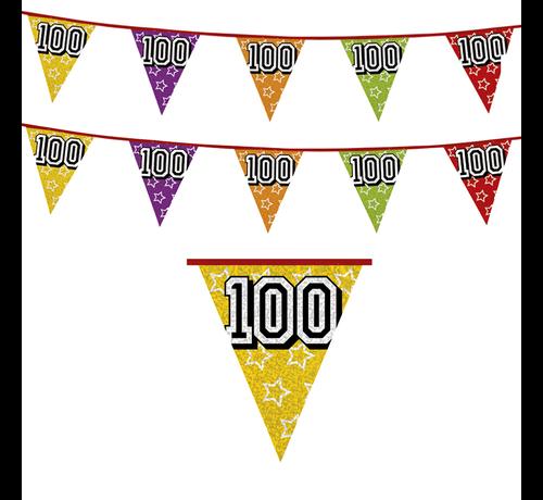 Vlaggenlijn 100 jaar versiering