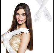 Gala handschoenen wit Monte Carlo