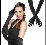 Handschoenen extra lang zwart