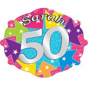 Huldebord sarah 50 jaar