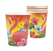 Flamingo drinkbekers