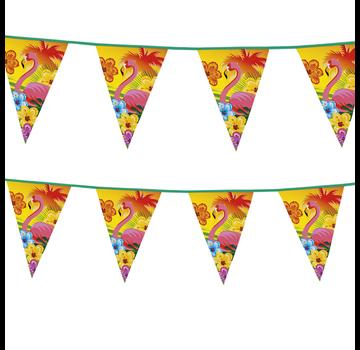 Kunststof vlaggenlijn Flamingo