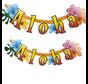 Letterslinger Aloha gekleurd