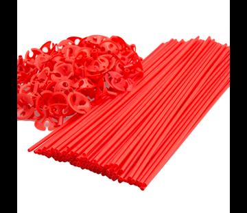 Rode Ballonnenstokjes