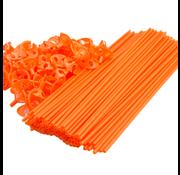 Oranje ballonnenstokjes