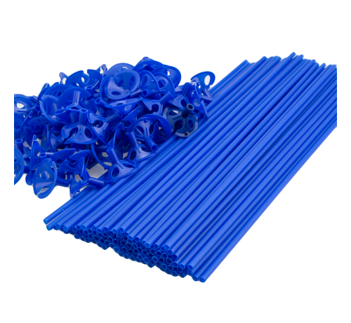 Blauwe ballonnenstokjes goedkoop kopen
