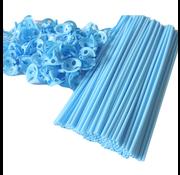 Baby blauw ballonnenstokjes