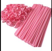 Baby roze ballonnenstokjes