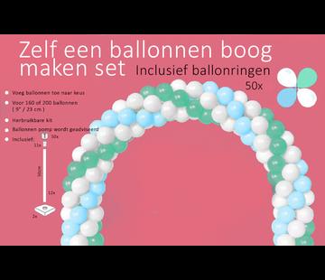 onjuiste nummer Ballonnenboog maken