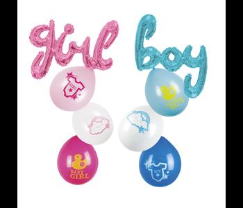Baby ballonnen