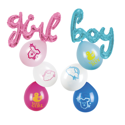 Baby ballonnen kopen
