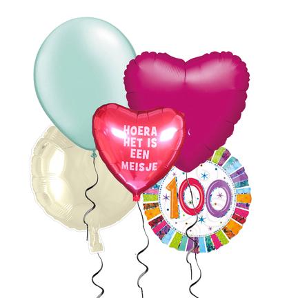 Heliumballonnen in vele soorten