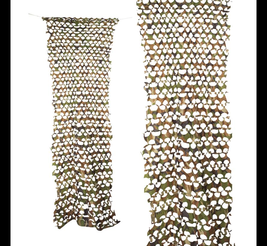 banner Camouflage net decoratie