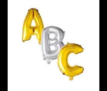 Letter ballonnen