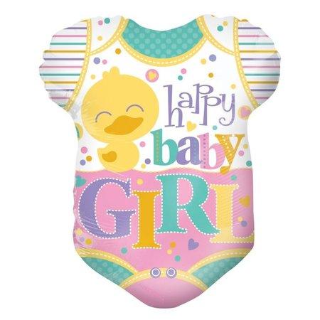 Baby ballon  rompertje meisje