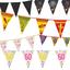 Vlaggenlijnen als leuke feest decoratie