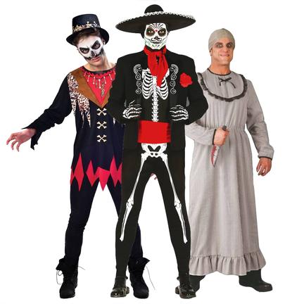 Halloween kostuum mannen