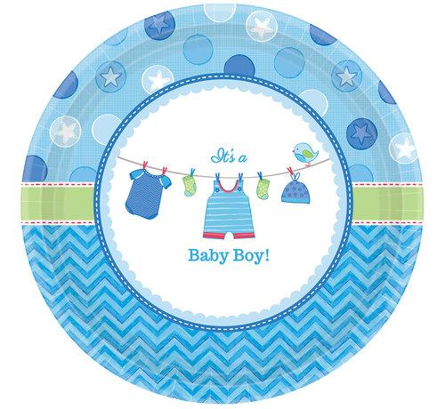 babyshower bordjes boy