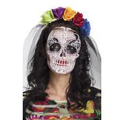Mexicaanse tiara met sluier