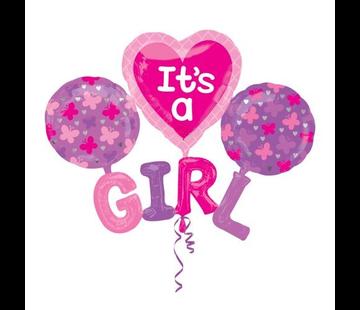 Ballon set it's a girl