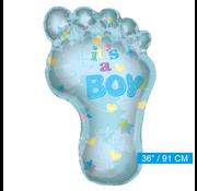Baby ballon blauw