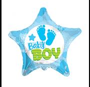 onjuiste nummer Baby boy ster ballon