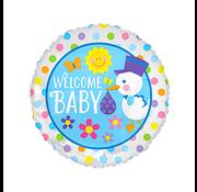 onjuiste nummer Baby welkom ballon